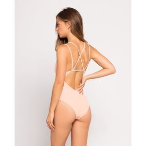 NEW L*Space Ribbed One Piece Swimsuit